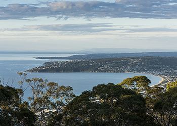 View from Arthurs Seat, Mornington Peninsula